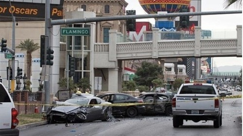 Woah. There was a pretty crazy drive-by shooting on the Las Vegas strip yesterday. The incident left 3 dead including Kenneth Cherry, Jr. aka rapper Kenny Clutch. Click the pic for full details.