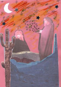 dreemboat:  stevie nicks lives on a mountain in the desert among the stars