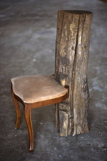 A tad Snow White-ish, but isn't this a lovely chair?