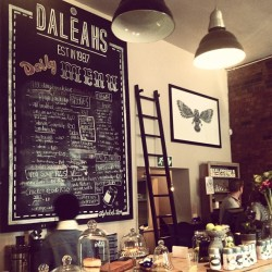 Newly opened #Daleahs in #braamfontein has amazing food. #nomnomnom #joburg #jozi #johannesburg  (at Daleahs)