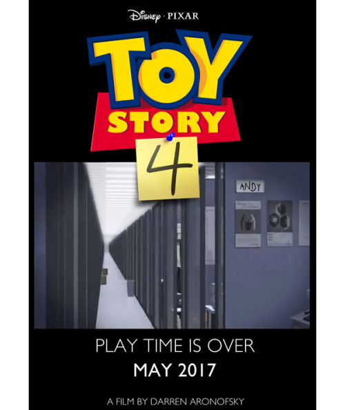 Toy Story 4 Teaser Poster Leaked! Pixar announced that a fourth installment in the Toy Story franchise will be released in 2015, and if this poster is any indicator, it looks like the next one's gonna be even more heart-crushing than 3: