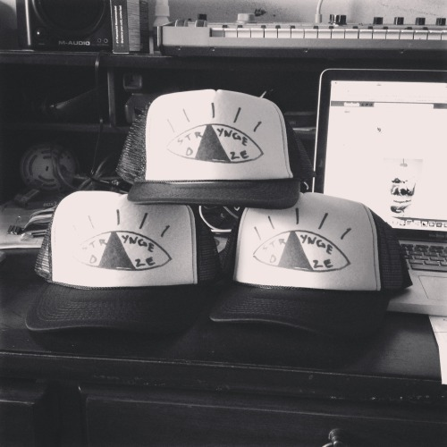 The STRAYnge Daze hats that I ordered just arrived in the mail. Just ordered a few as a test run but will be ordering more soon!