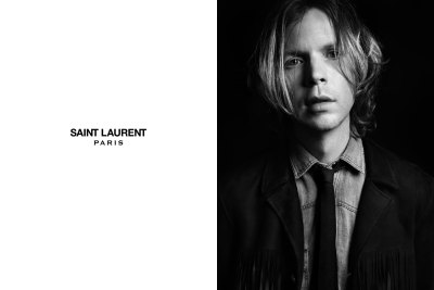 faderstyle:  BECK IS THE NEW FACE OF HEDI SLIMANGE'S SAINT LAURENT PARIS