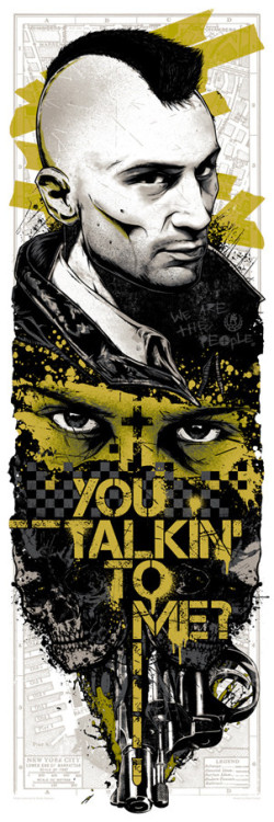 You talkin' to me?! Check out this stunning screen print by artist Rhys Cooper, part of our recent Martin Scorsese-themed art show! Only 150 copies in existence, and last we checked we've only got about a dozen left! Pick one up while you still can here.