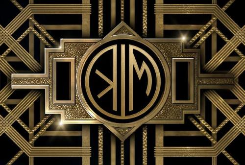 My personalized Great Gatsby Monogram in anticipation of the launch on May 10th!