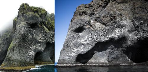 house-under-a-rock:  Elephant Rock, Iceland