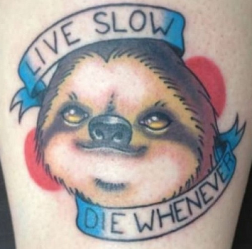 live slow. die whenever.