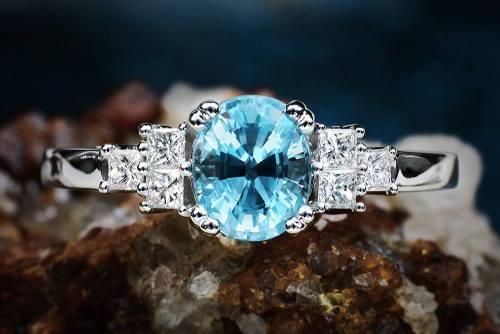 aquamarine aquamarine ring gemstone jewelry fine jewelry davidwein.com