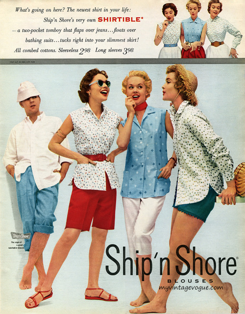 Ship 'n Shore 1954  Tippi Hedren (center)