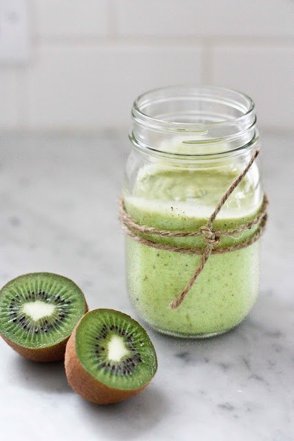 plantationpeels:  #Beautiful Things #Food #Kiwi Smoothies