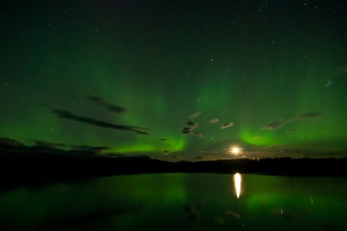 Keith Ramos took this stellar photo of the Arora Borealis over the Nowitna River in the Nowitna National Wildlife Refuge in Alaska. This photo was submitted to the 2012 National Wildlife Refuge Association photo contest. To see more entries, click here.