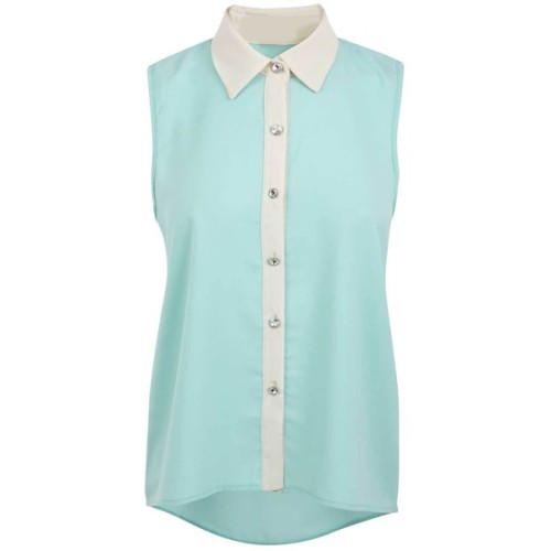 illbe-drunk-again:  Blouse ❤ liked on Polyvore (see more chiffon shirts)