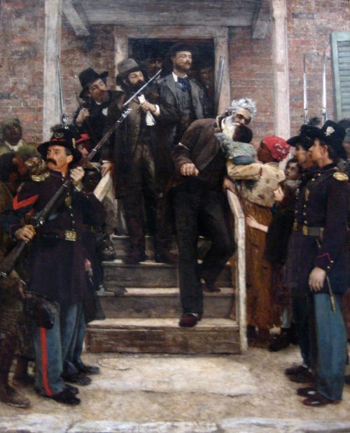 satans-advocate:  'The Last Moments of John Brown', oil on canvas painting by Thomas Hovenden.