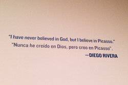 Diego Rivera on Flickr.Believe in Picasso…