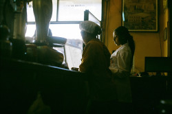 View from behind the counter of a coffee shop in Addis Ababa, Ethiopia. Photo by Craft Coffee employee Nate Berkopec. In this month's tasting box, we've featured a coffee from the Keffa co-op in Yirgacheffe, Ethiopia roasted by Highwire Coffee Roasters.