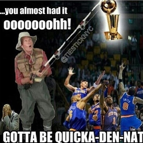 codytiggs:  jasonfleurant:  Ooooooh Lmbo #Goodnight lol #knicktape #Knicks #pacers #LetsGoHeat #coldblooded  hahaha