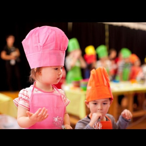 So cute, always enjoy watching young chefs #foodies #foodporn