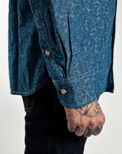 101 Everyman Shirt in Japanese narrow loom selvage chambray