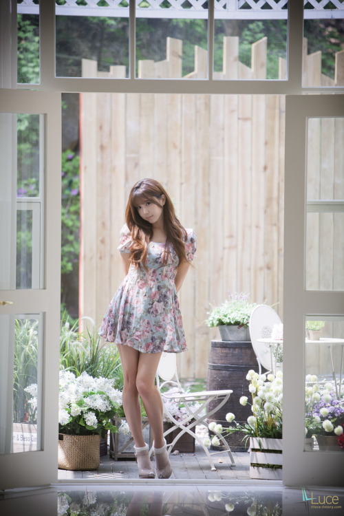 girlsbravo:  CuteKorean: Lovely Heo Yoon Mi