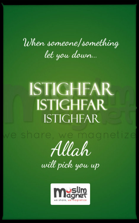 muslimagnet:  Allah will pick us up.. Source : link see more posts at musliMagnet!
