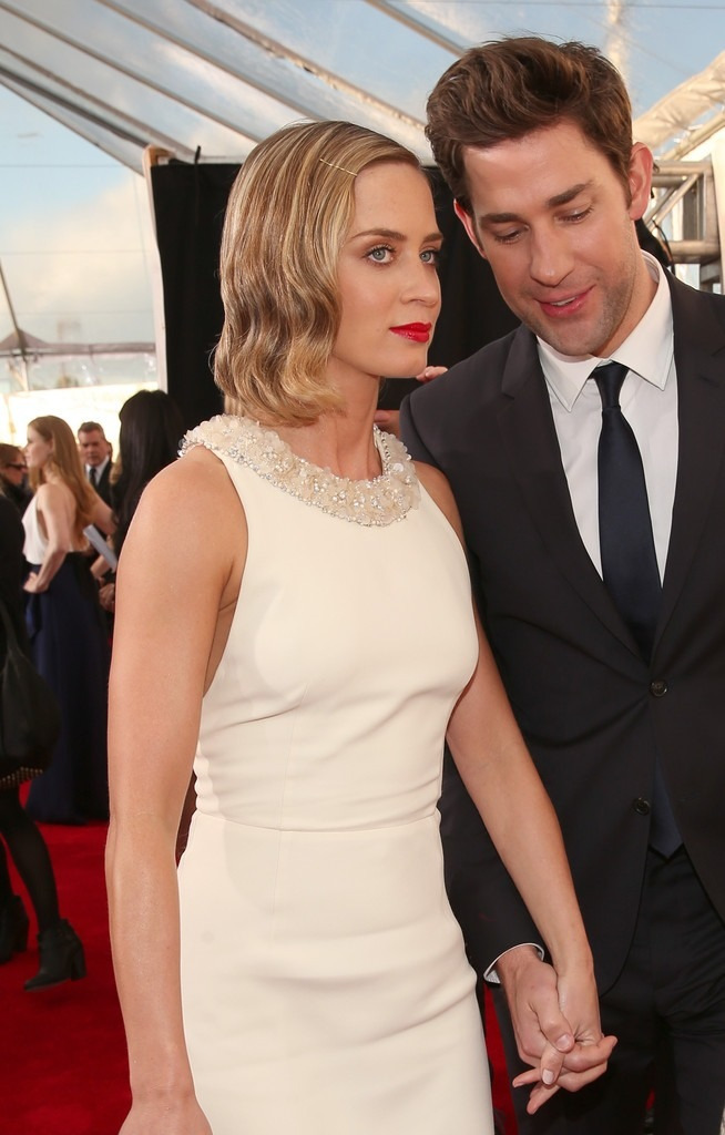 viviandior:  Emily Blunt and John Krasinski at the 18th Annual Critics' Choice Movie Awards on January 10, 2013