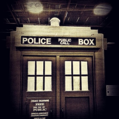 The Tardis at #ozcomiccon #ozcc #adelaide