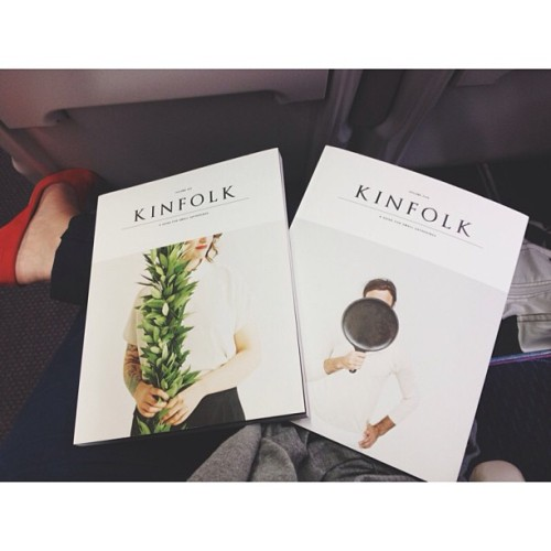 Charity shop find for my journey home @kinfolkmag