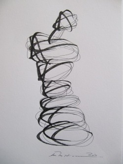 felixinclusis:  vjeranski: Åse Margrethe Hansen/Ink drawing, 2010