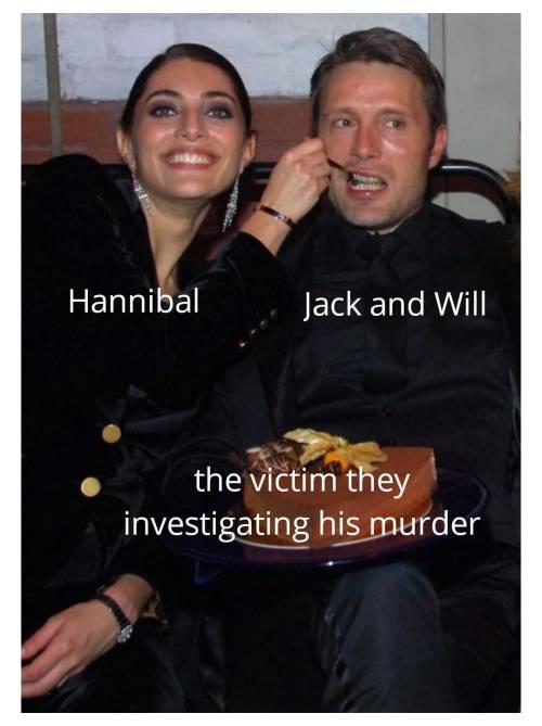 So I made that #nbc hannibal#mads mikkelsen#memes