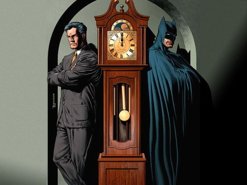 the duality of man  Art by Brian Bolland