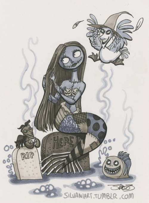 pixiedust-paycheck:  silvaniart:  I've got goblins and ghoulies aplenty, I've got horrors and terrors galore.   AGH yesss