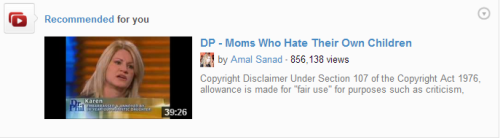 what are you implying youtube?