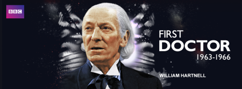The First Doctor YouTube Clip Playlist courtesy BBC Worldwide: William Hartnell was the first TV Doctor. A veteran of stage and screen, Hartnell saw the role as an ideal opportunity to break away from the tough sergeant major roles he often found himself cast in. He got to wear a long grey wig too!Find out more about William Hartnell here.More clips being added throughout the month! There are some key clips in here. It's definitely worth a browse. h/t Anglophenia