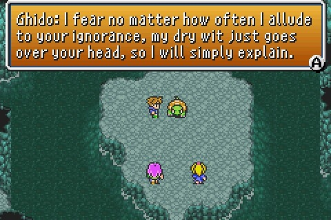 Sarcastic turtle action from Final Fantasy V.