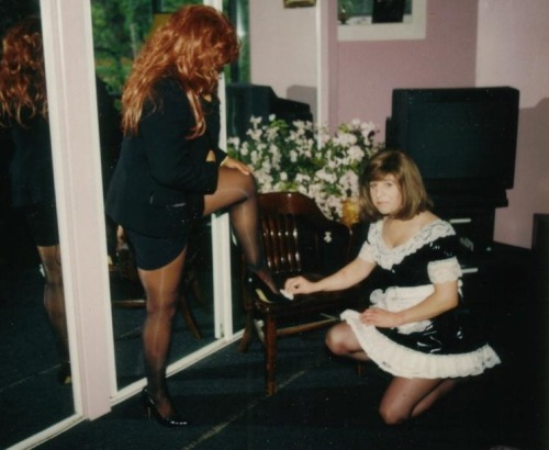 This is exactly how I would like my wife to treat me as a sissy&#8230..