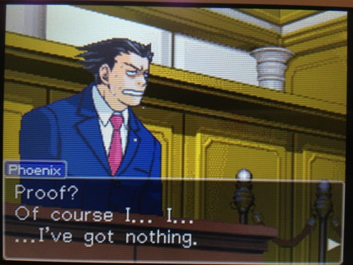 shityeahh:  phoenix wright, ace attorney: a summary