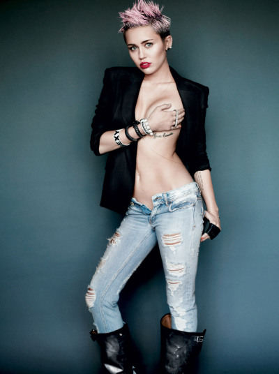 Take a look at the emancipation of Miley Cyrus!  — http://s.amypink.com/emancipationofmiley
