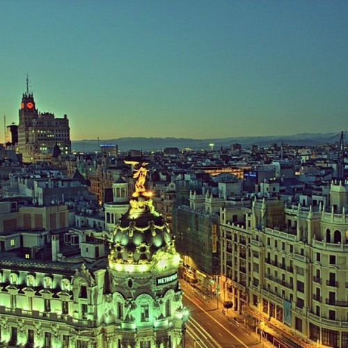 Goodmorning Madrid!