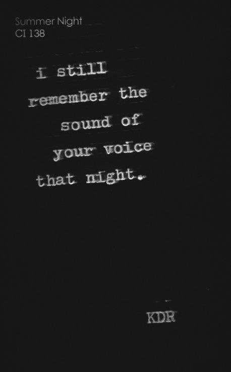falling-deeperinlove:  and every night.