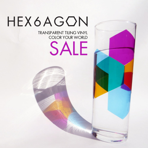 Less than 2 days left to save 30% on HEX6AGON tiling vinyls @fab.com
