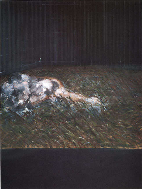 24four:  Francis Bacon- Two Figures in the Grass- 1954