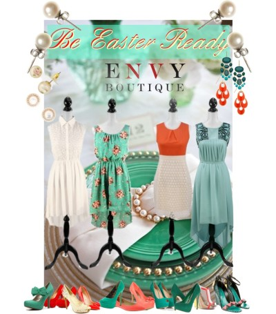 Easter with Envy Boutique by dressup featuring qupid pumpsChristian Louboutin wedge heels / Sergio Rossi summer shoes, $1,235 / Giuseppe Zanotti platform high heels / Christian Louboutin  heels / Charles David  / Steven high heel shoes / Jessica Simpson platform shoes / JustFabulous coral heels / Coconuts flat shoes / Qupid  pumps / David Aubrey emerald chandelier earrings / J.Crew j crew / Ziba white pearl earrings, $30 / Pearl earrings / Mood jewelry, $12