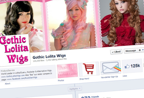 "Want to see more of our wigs and customer coordinates? ""Like"" our Facebook page to get the latest content, information on sales, and so much more! Check us out on Facebook!"
