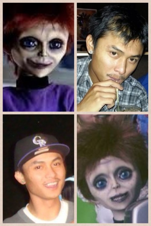 Celeberty look alikes. Puahaha