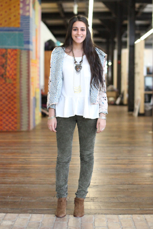 Free People Office Style: Casual and cool