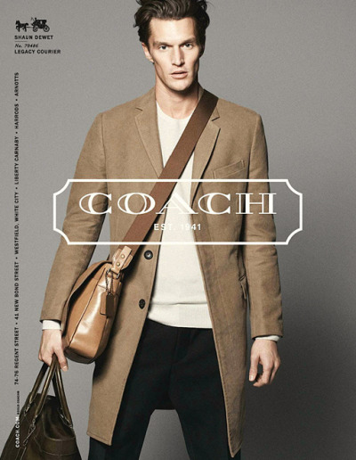 fordmodels:  Shaun DeWet for Coach S/S 2013