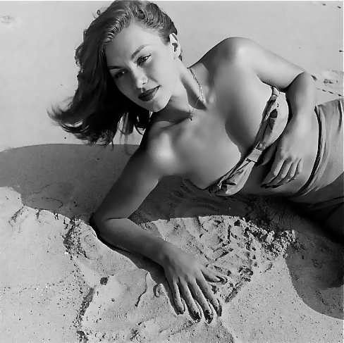 Linda Christian, 1945 Photo by Bob Landry