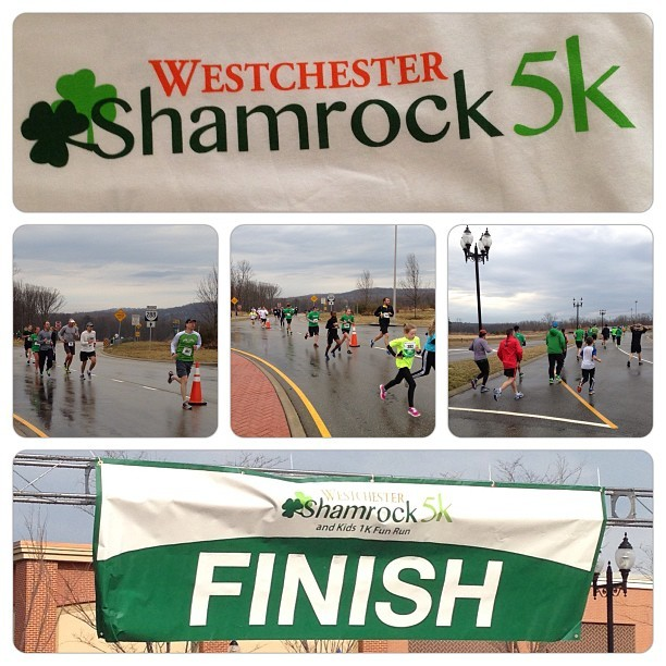 Great seeing everyone this morning at the #westchester #shamrock #5k! #photos #saturday #weekend #run #race #midlo #stpattysday #green #igers #igdaily #igaddict #picframe