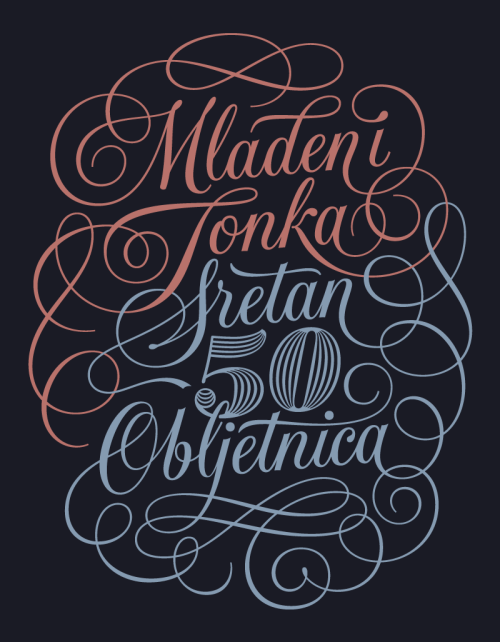 Typeverything.com Mladen and Tonka — Happy 50th Anniversary by Dave Foster.