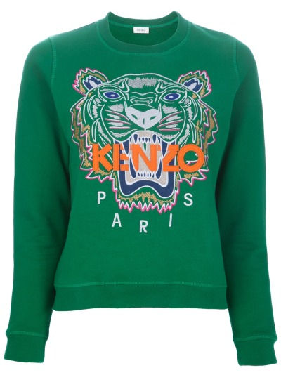 stylesight:  Kenzo Tiger sweater